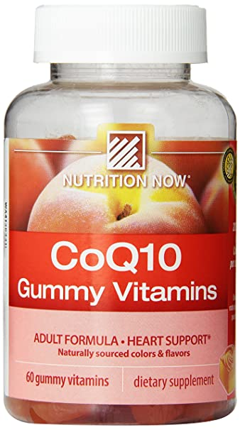 Nutrition Now Coq10 Gummy Vitamins 60 Count