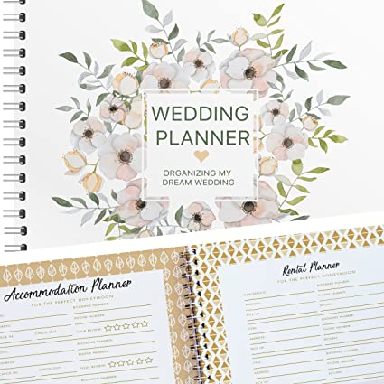 amazon com planning the wedding of my dreams a complete 80 pages