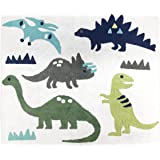 Girl or Boy Accent Floor Rug Bedroom Decor for Blue and Green Modern Dinosaur Kids Bedding Collection