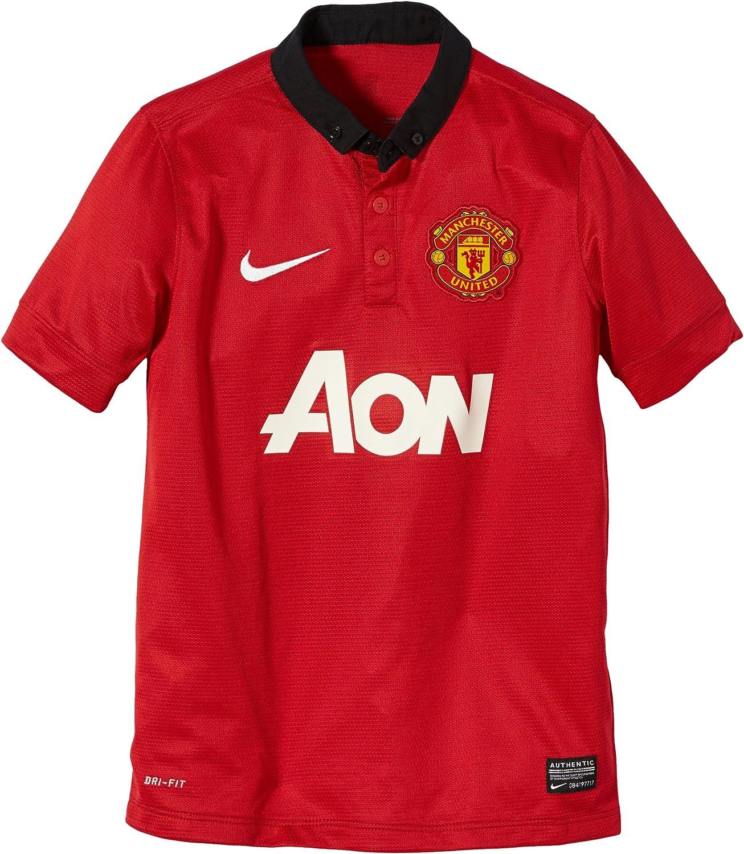 NIKE Kurzärmliges Trikot Manchester United Home Replica - Camiseta ...