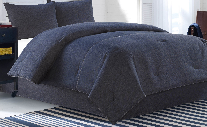 Nautica Seaward Denim Comforter Set, Twin