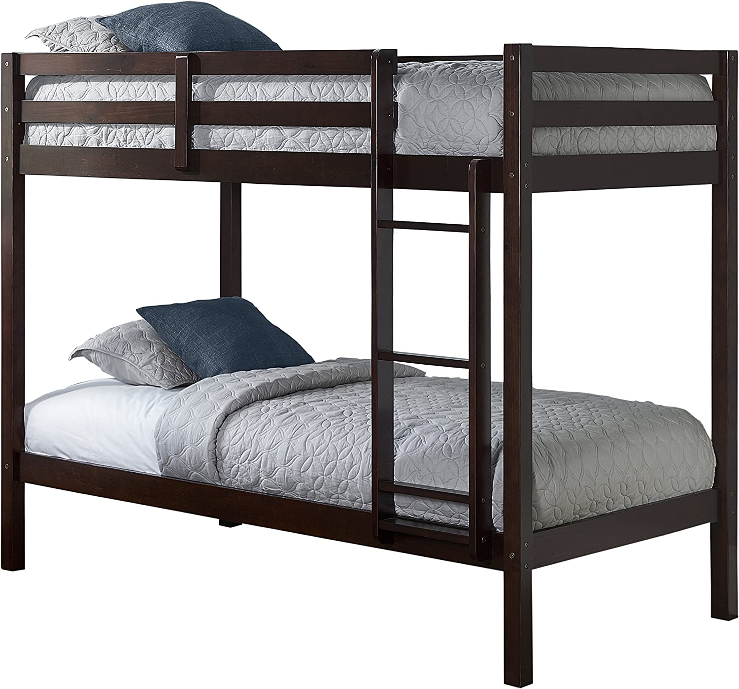 Hillsdale Kids and Teens Caspian, Chocolate Twin Bunk Bed