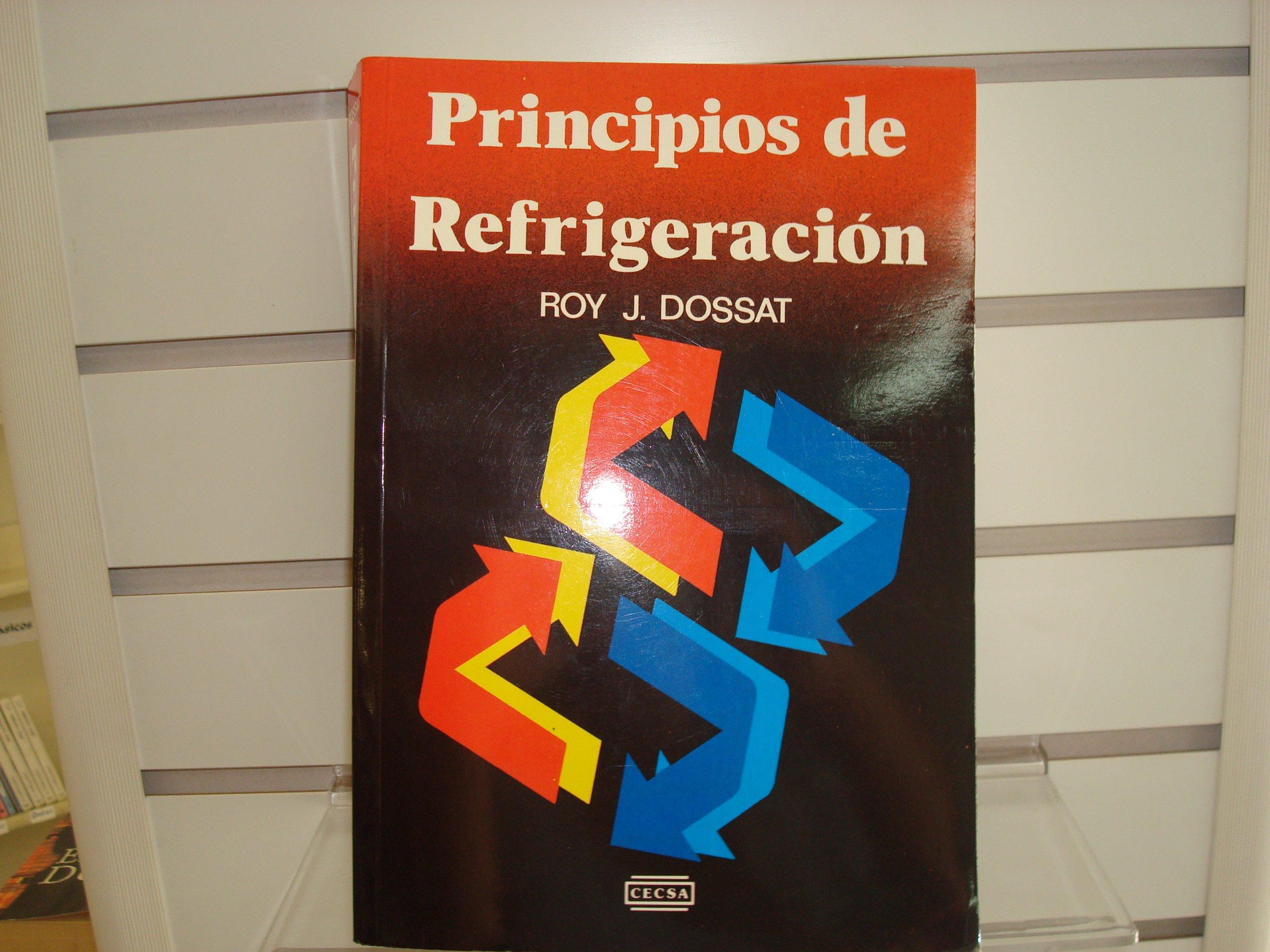 libro principios de refrigeracion roy dossat