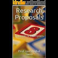 Research Proposals: Contents & Exemplars