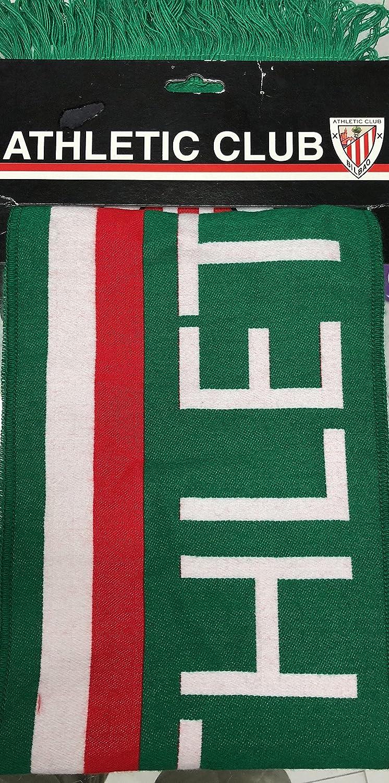 Athletic de Bilbao - Bufanda Triple hiladura Verde (Accesorios ...