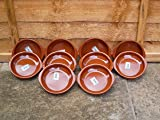 Set Of 10 14cm Terracotta Tapas Dishes