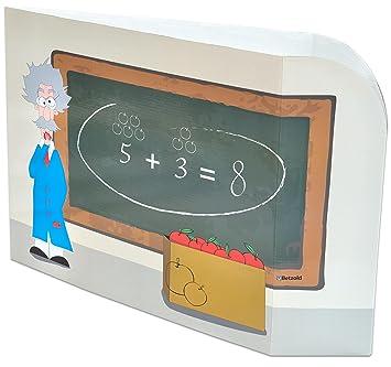 Betzold 755878 Tischaufsteller Sichtschutz Mathe Trennwand