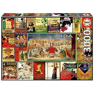 Educa 300017676Opera Collage: Toys & Games