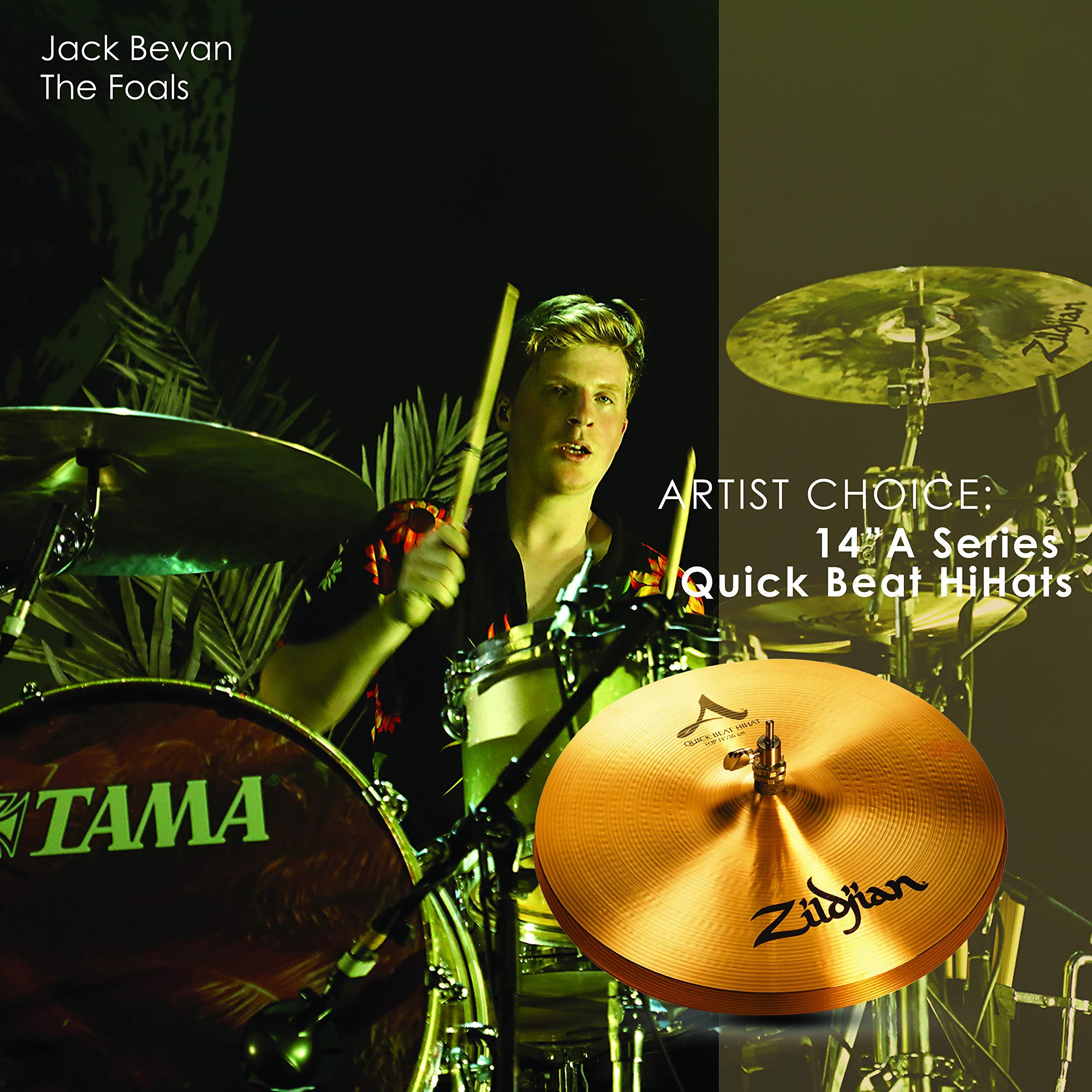 Zildjian A Series 14'' Quick Beat Hi Hat Cymbals Pair