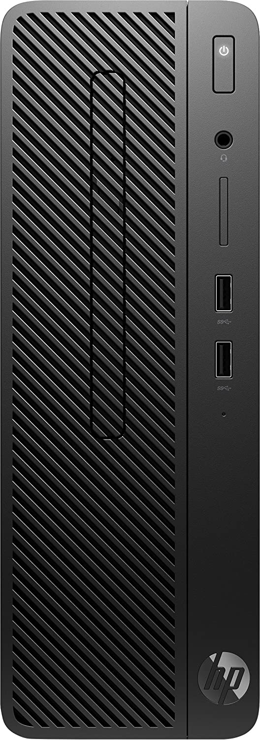 HP 290 G1 Intel® Pentium® G5400 4 GB DDR4-SDRAM 1000 GB Unidad de Disco Duro Negro SFF PC - Ordenador de sobremesa (3,7 GHz, Intel® Pentium®, 4 GB, 1000 GB, DVD-RW, Windows 10 Pro)