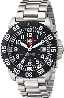 navy black and white pictures for bathrooms. Luminox Navy Seal Colormark Black Dial Steel Mens Watch 3152 Amazon com  Men s 3052 Resin