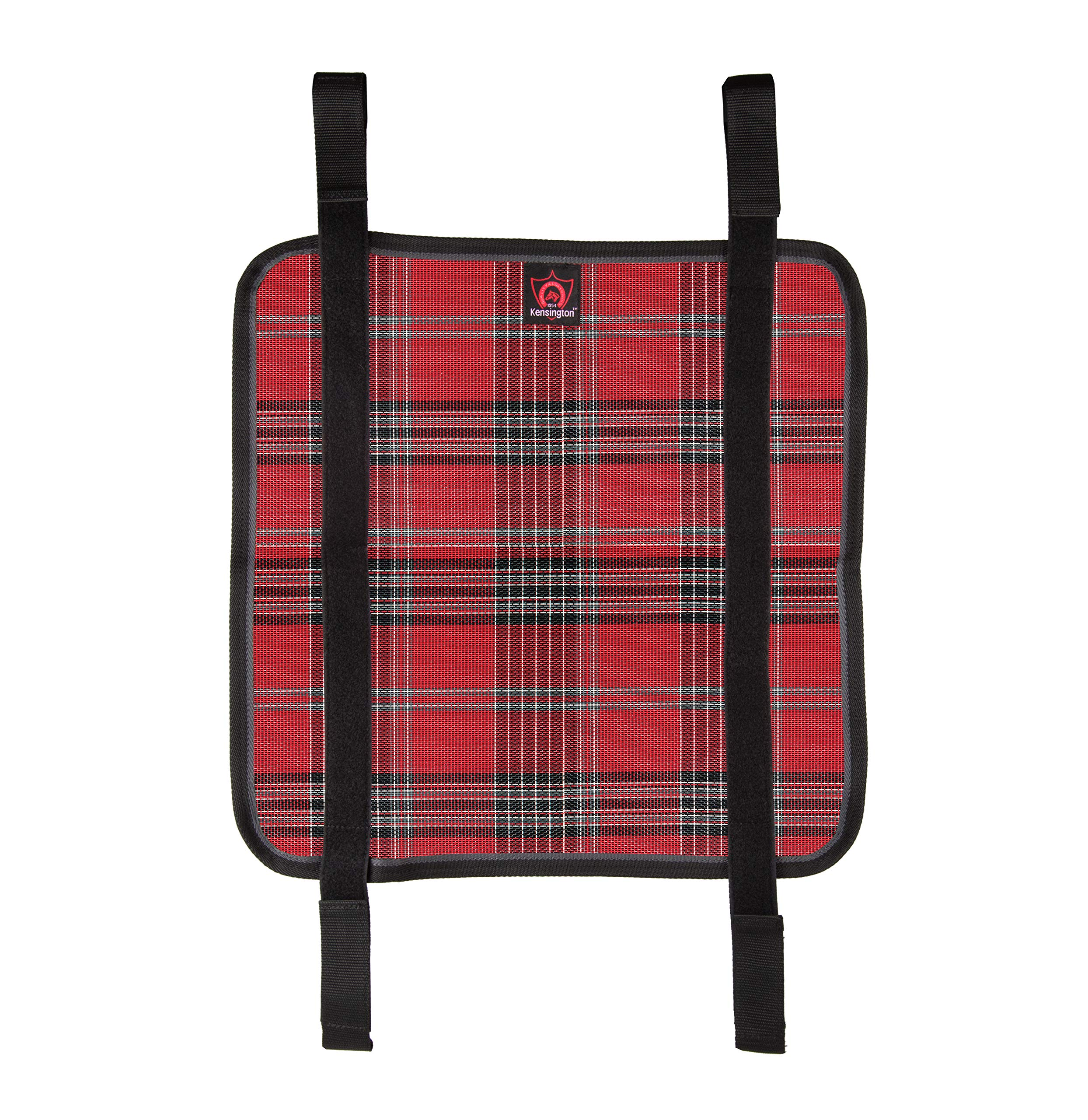 Kensington Belly Band For Horse Under Belly - Protects Under Belly When Attached to Traditional Cut Protective Sheet - Offers Maximum Protection Year Round - Deluxe Red Plaid