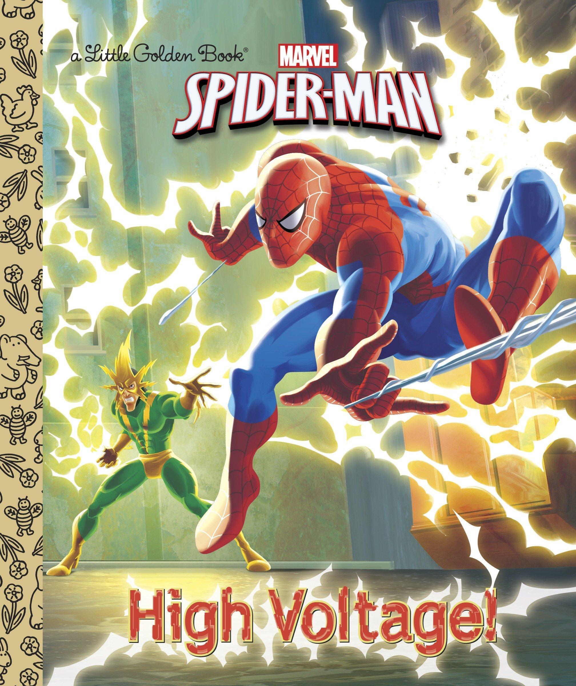 High Voltage! (Marvel Spider-man: Little Golden Books)