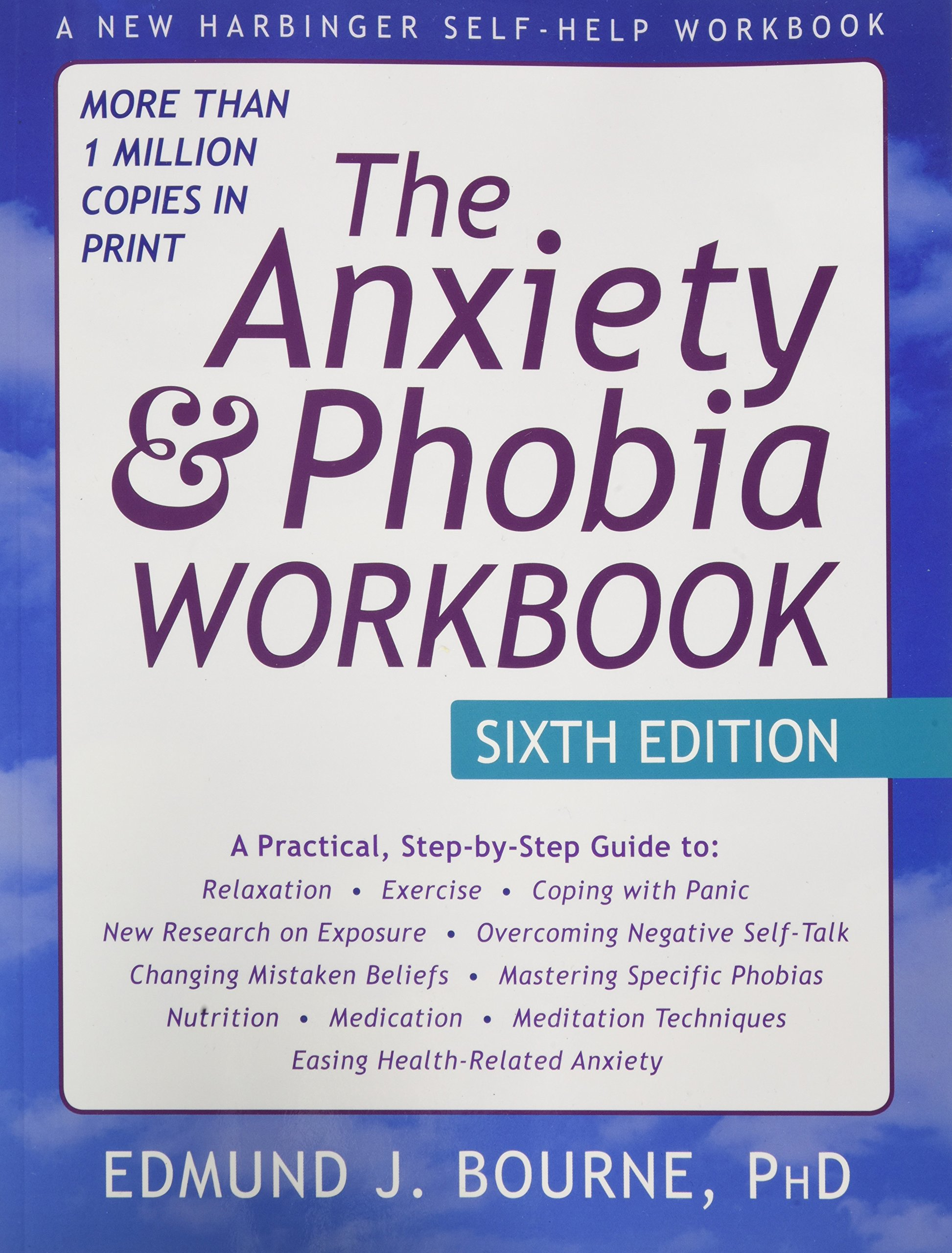 The Anxiety and Phobia Workbook: 6th Edition: Edmund Bourne PhD:  9781626252158: Books - Amazon.ca