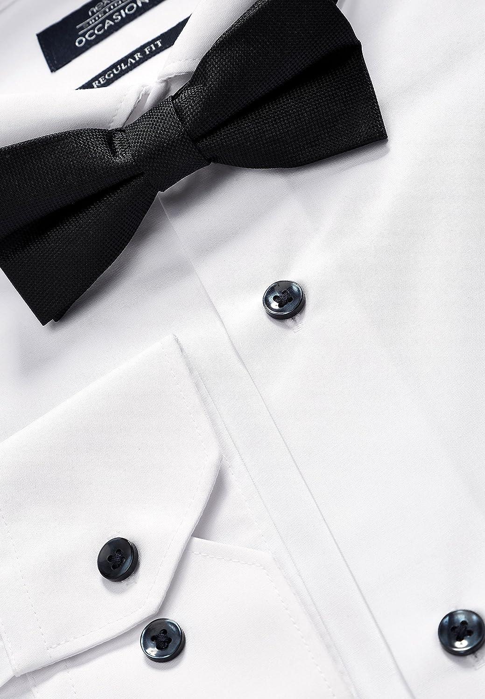 next - Camisa para Hombre con Ajuste Normal con Cuello y ...