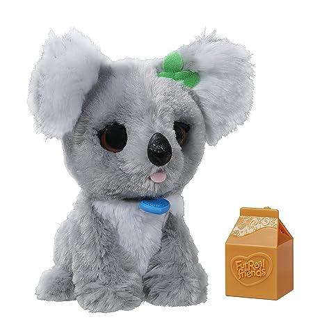 5f1d21569 Amazon.com: FurReal Friends Li'l Big Paws Sneezy Kiki Koala Pet ...