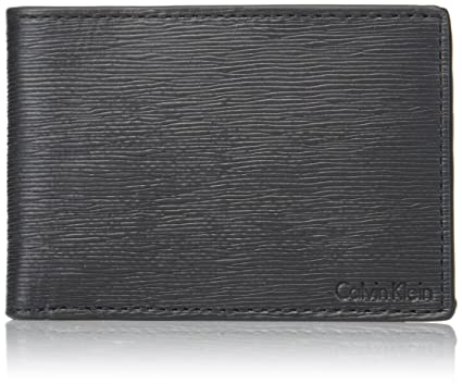 d1c6ed4f5d Calvin Klein Men's Textured Slimfold, black One Size at Amazon Men's ...