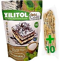 Xilitol 100% Natural 1Kg Azucar de Abedul de Finlandia Ideal para Reposteria y Dietas Edulcorantes DULCILIGHT el sabor…