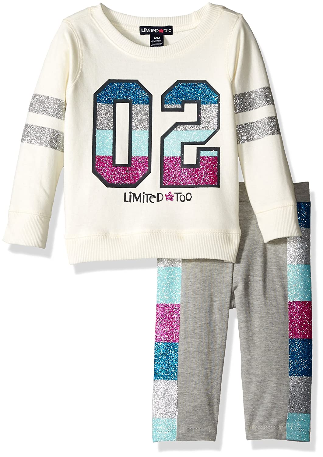 More Available Styles Girls Knit Top and Legging Set