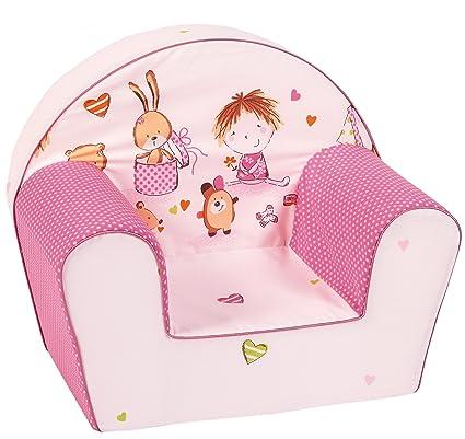 be8eb3bc7 Knorr-baby 490167 - Sillón infantil, color rosa: Amazon.es: Bebé