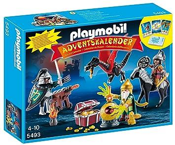 Calendrier L Avent Playmobil.Playmobil 5493 Calendriers De L Avent Tresor Royal Du Dragon Asiatique