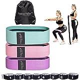 Positive Things Weerstandsbanden 3+1 Pack - Full Body Resistance Bands met Verschillende Weerstandsniveaus - Premium…