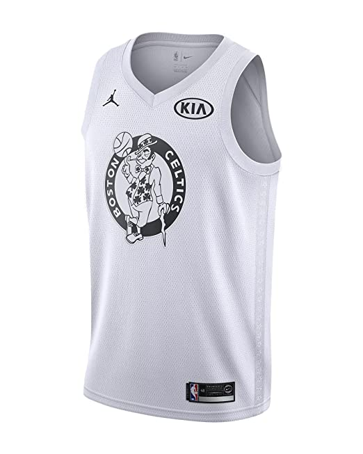 Nike NBA Boston Celtics Kyrie Irving 11 All Star Game 2018 Los Angeles Jersey Oficial Jordan Brand, Camiseta de Hombre: Amazon.es: Ropa y accesorios