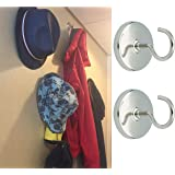 2 x Cruise Cabin Magnetic Hooks - Increase cabin storage instantly! Holds 6.5 kilos each