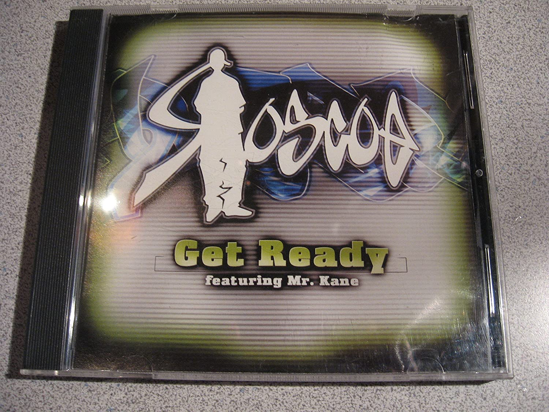 Roscoe - Get Ready (featuring Mr Kane) CD single 2-track Promo [Audio CD]