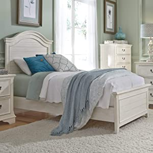 Liberty Furniture Industries Bayside Full Panel Bed, White
