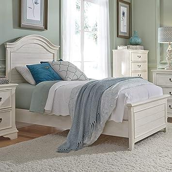 Amazon Com Liberty Furniture Industries Bayside Full Panel Bed White Furniture Decor