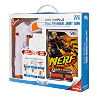 Wii Quick Shot Plus with Nerf-N-Strike - White - Standard Edition