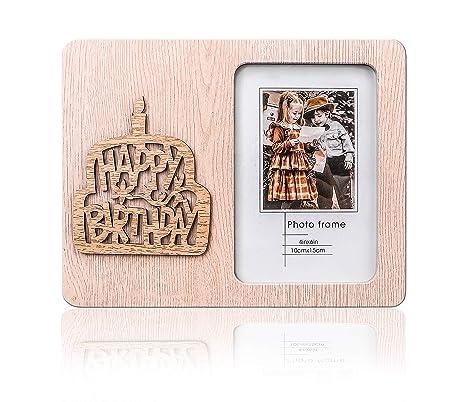 Amazon.com: GMQHD 4 × 6 sobremesa hueco marco de fotos para ...