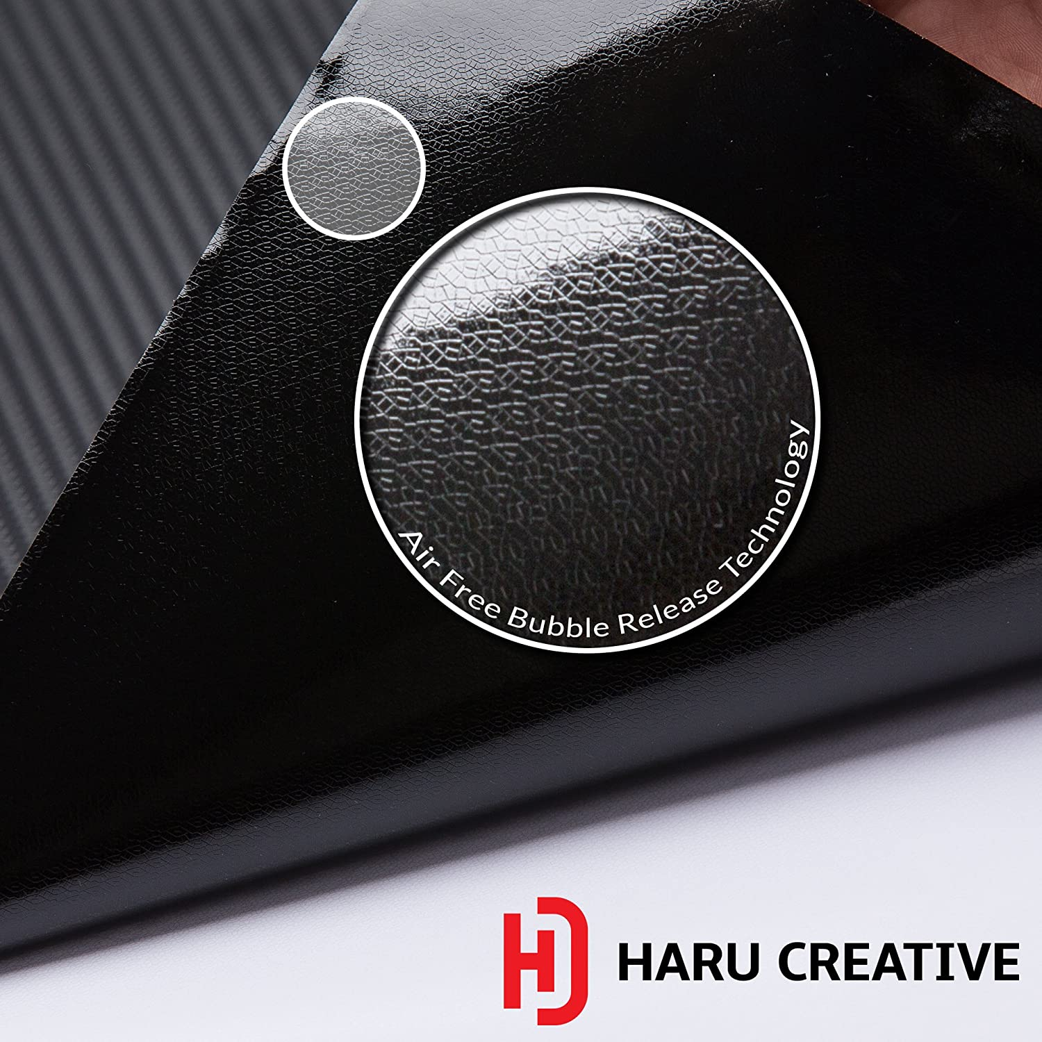 Haru Creative - Matte Black Fender Side Door Emblem Letter Overlay Vinyl Decal Sticker Compatible Fits Ford F150 F-150 2015 2016 2017 2018