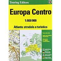Europa centro. Atlante stradale e turistico 1:800.000. Ediz. multilingue
