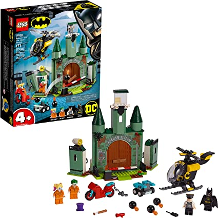LEGO Harley Quinn Figur DC Batman Super Heroes Jocker 76138 in Arkham Prison