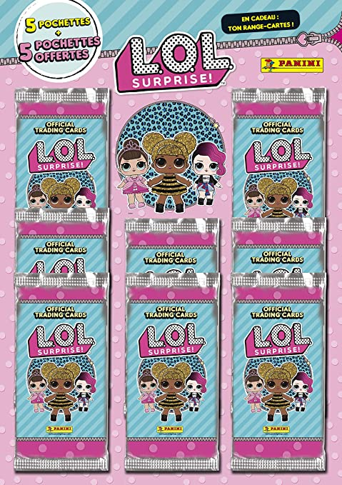 Panini France - Pack de 5 Bolsillos comprados, 5 Ofertas + Ranura para Tarjeta inédito LOL Trading Cards, 003678SPAF: Amazon.es: Juguetes y juegos