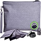 New 2020 Smell Proof Bag - Odor Proof Bag - Dog Tested Bags - Best Odor Proof Pouch Zipper on Top Smell Proof Case for…