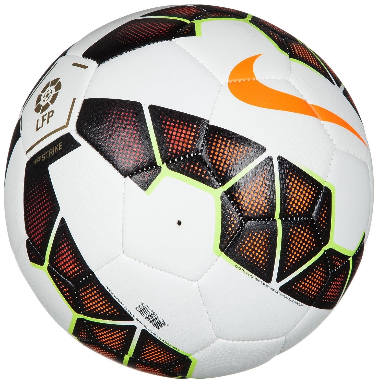 Nike Strike LFP - Balón de fútbol, Color Blanco/Naranja/Rojo/Negro ...
