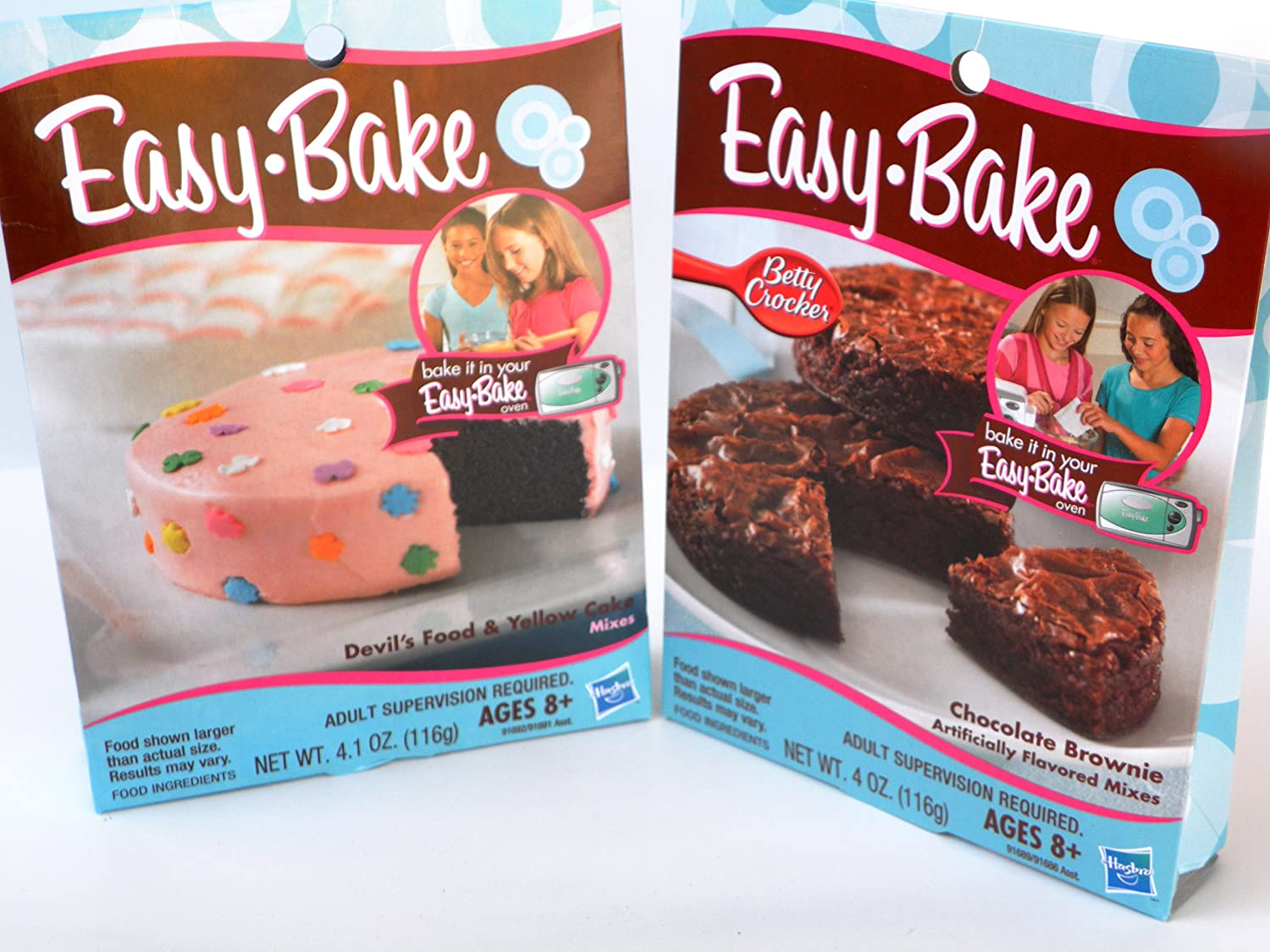 Easy Bake 2 Pk Combo Chocolate Brownie, Devil