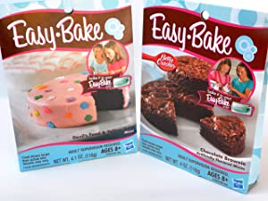 Easy Bake 2 Pk Combo Chocolate Brownie, Devil's Food & Yellow Cake mixes