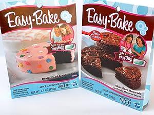 Easy Bake 2 Pk Combo Chocolate Brownie, Devil's Food & Yellow Cake mixes