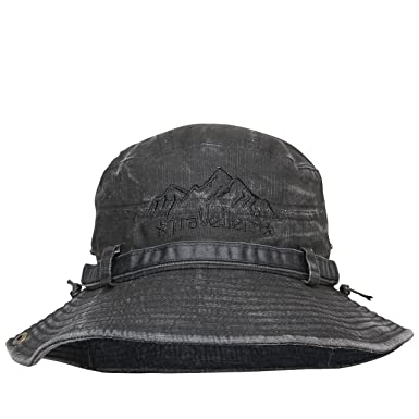 180f8e34451 FabSeasons Foldable Washed Cotton Bucket Hat   Cap  Amazon.in  Clothing    Accessories