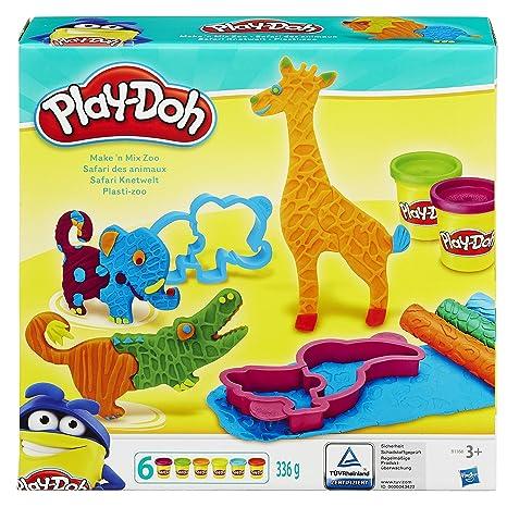 Play-Doh Hasbro Maken Mix Zoo Arcilla de modelar 6pieza(s)