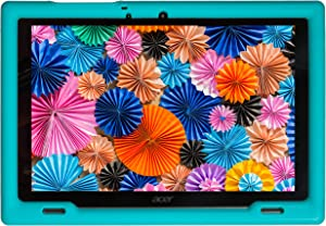 BobjGear Bobj Rugged Tablet Case for Acer Iconia B3-A50 Kid Friendly (Terrific Turquoise)