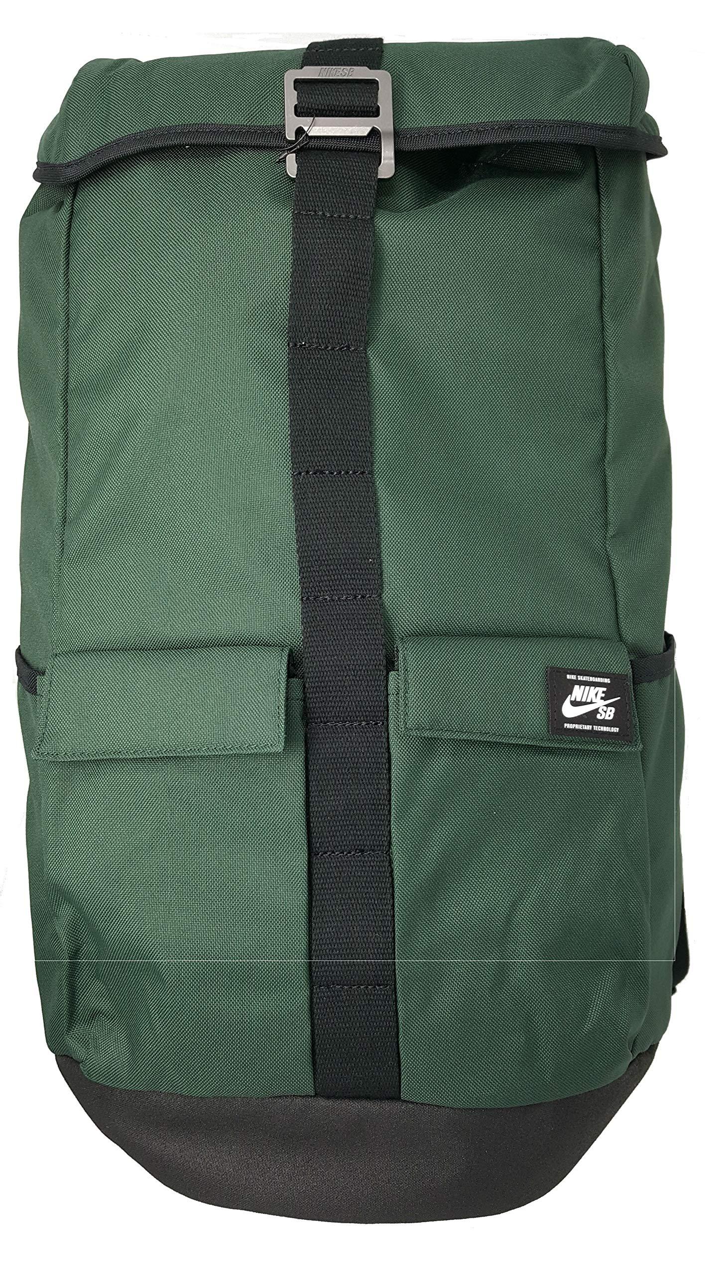 e114af8f442e Nike SB Stockwell Backpack BA5535-327 Midnight Green - Black - White