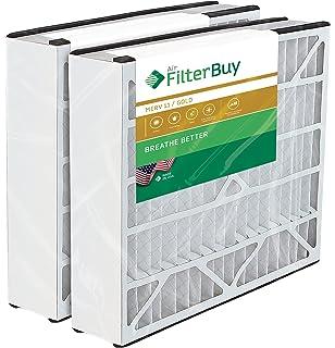 2pk Air Filter 20x25x 5 MERV 8 fit Honeywell F25 FC100A1037 F150 F200 FC100C1017