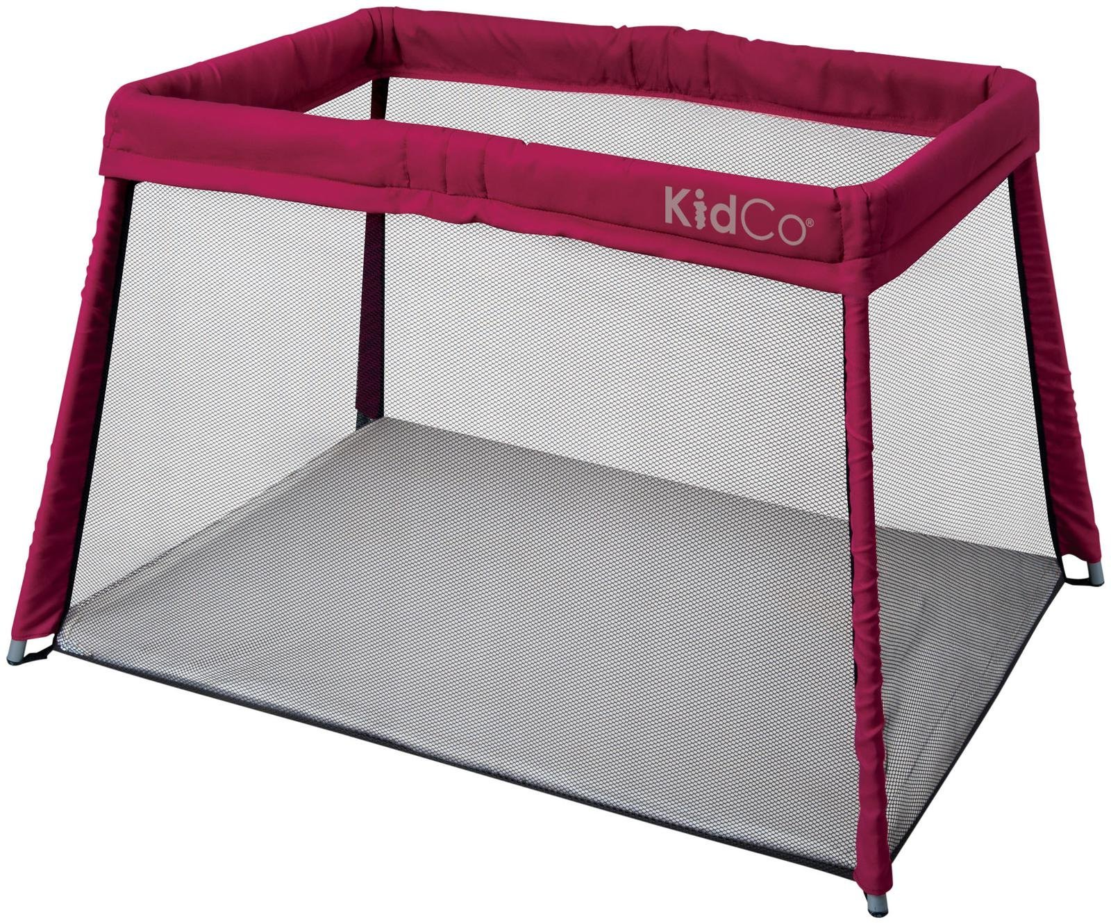 KidCO Travelpod Portable Bed, Cranberry by KidCo