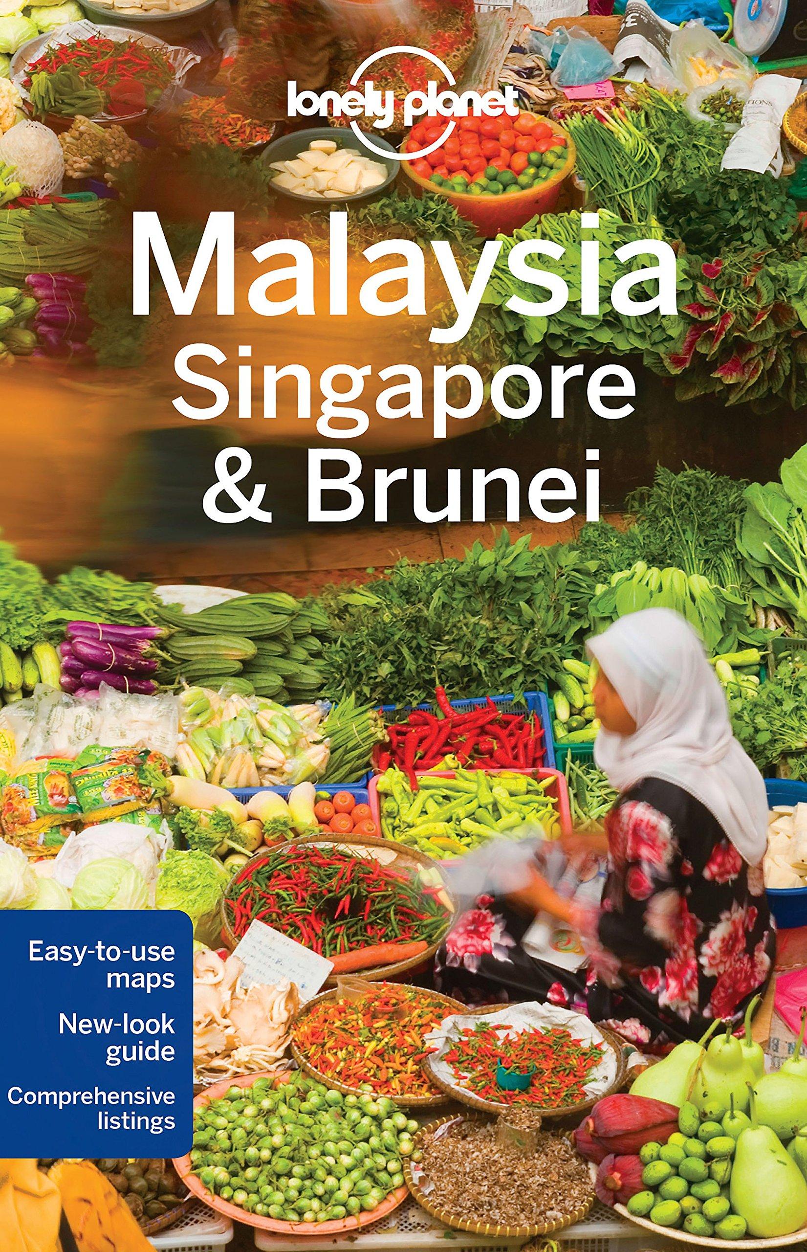Lonely Planet Malaysia Singapore Brunei
