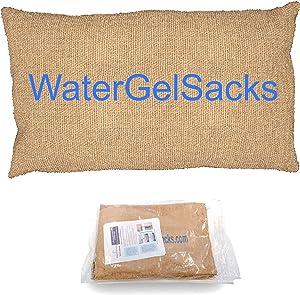 Sandless Sandbag (10 Pack) – Hurricane and Flood Protection - Water Absorbent Flood Barrier - Flood Barrier for Garage, Stop Water Leak